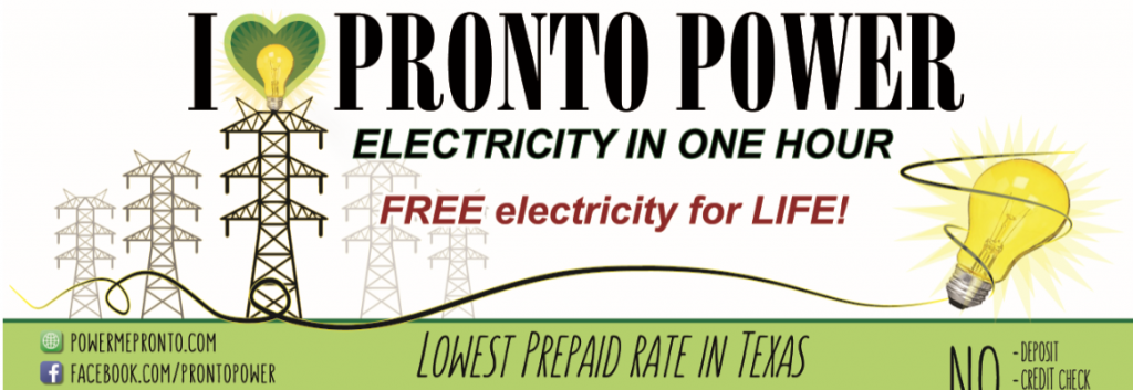 Prepaid Electricity Porter Heights TX Picture