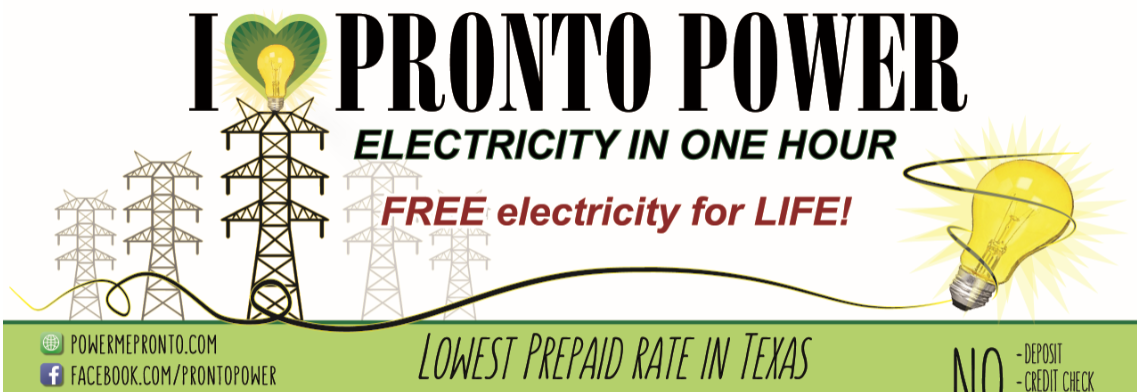 Prepaid Electricity Texas Prepaid Energy Pronto Power